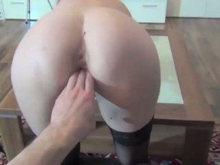 brunette, toys, anal sex