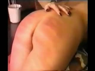 South African Caning: Spanking Porn Video