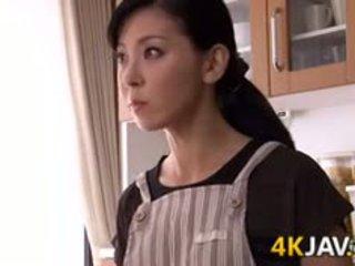 Japonské manželka gets fucked