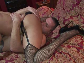 Fleshy Girl get Ravished by Two Bouncy Studs in a Mmf
