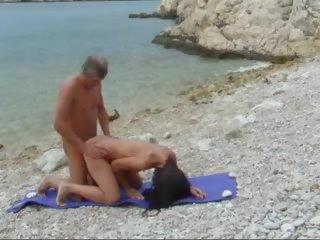 Beach Fuck by Ahcpl: Mobile Beach Porn Video 71