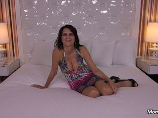 Horny big tits MILF gets anal fucked