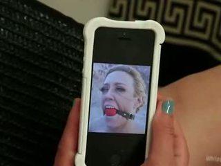 slagroom porno, plezier ruw scène, meer riem op actie