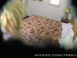 Wicked - Samantha Rone gets caught on hidden