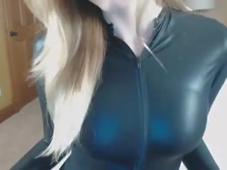 Shiny Catsuit JOI CEI, Free Free Catsuit Porn df