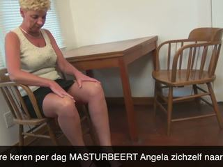 Dutch Mature Horny Housewife Masturbating: Free HD Porn 46