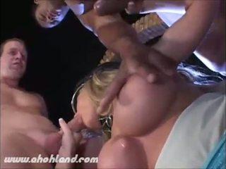 plezier orale seks neuken, grote borsten, mmf video-