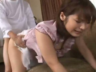 Nao Ayukawahot asian model enjoys getting doggy style