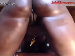 Λαδωμένος/η επάνω αφρικάνικο βασίλισσα - ligar seduction, πορνό 4d