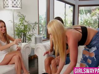 real lesbians tube, best babes porno, great threesomes film