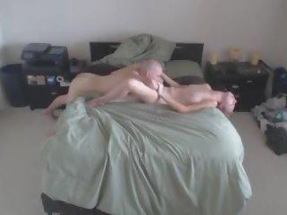 Bald Guy Bangs Tall Blonde Chick 1, Free Porn c7