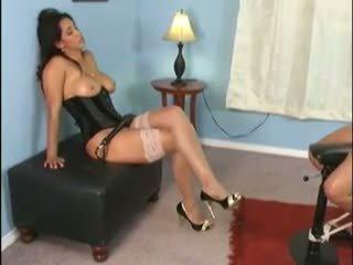 Lesbian Mistress Dominating Slave Girl, Porn 34