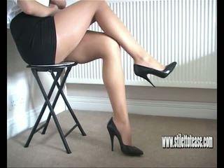 british, babes, high heels, foot fetish