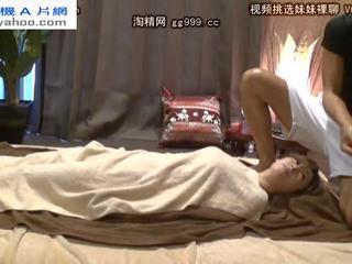 controleren brunette scène, meest orale seks actie, japanse tube
