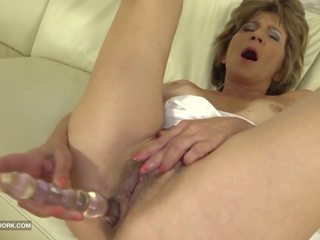 Hairy Old Pussy and Ass Fuck with Big Cock Black Man...
