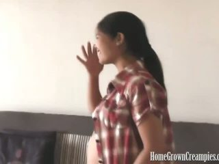 Pregnant Lyka Does A Creampie Scene With Martin