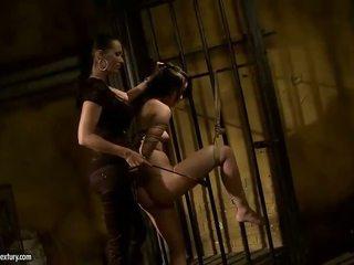 Mandy Bright punishing slavegirl