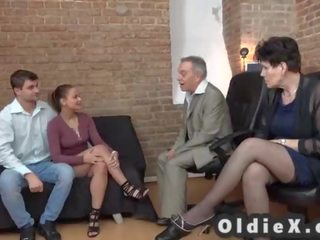 group sex fucking, great old video, see gilf channel