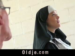 Old man znamk mlada monastery nuna fornicate