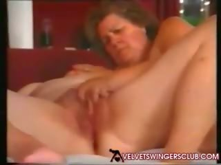 Velvet Swingers Club Mature and Granny Members Party...