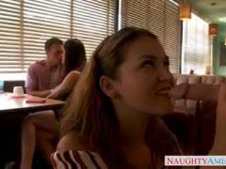 brunette, groepsseks porno, pornstar film
