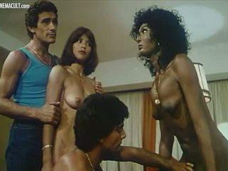 Lina Romay Ajita Wilson and Kati Ballari Nude scene compilation from Apocalipsis sexual
