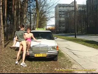 Real taxi driver sexo em rua, grátis real sexo porno vídeo 4e