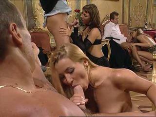 blowjobs, blondes, double penetration