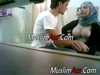 knipperende, amateur, muslim