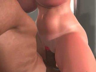 Interraciaal 3d seks