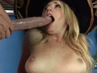 Chick Lexi Belle Acquires Double Cummed On The Face After A Hot Rockin Fuck