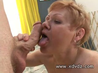 old, gilf, blowjob