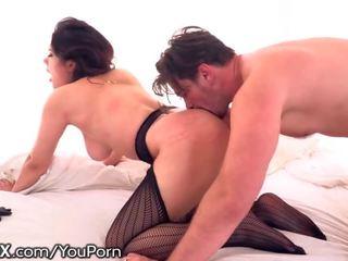Stunning Italian Babe Gets Erotic With Big Cock
