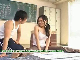 Sora aoi гаряча дівчина прекрасний китаянка модель enjoys getting teased