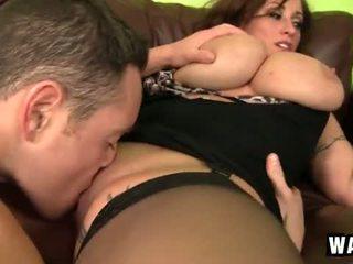 Incredibly veľký prsníky na the sexy puma pobehlica eva notty