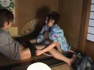 Japanska familj (brother och sister) kön part02