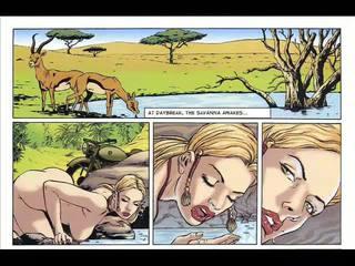 Hardcore sekss komikss un fantasy verdzība komikss