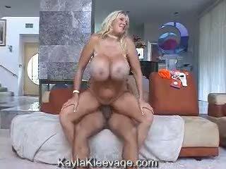 Kayla kleevage & randy liels juggs