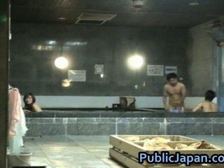 Haruka sasai الآسيوية female gangbangs واحد