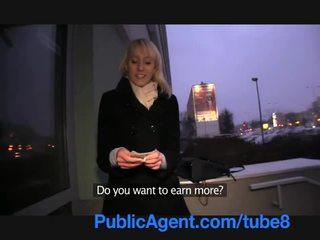 PublicAgent Blonde Lauras ass gets covered in my cum