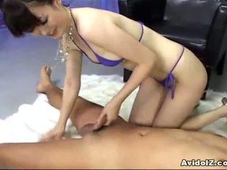 Ai himeno loves zakar/batang mengusik dan kumpulan masturbation