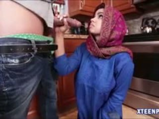 Hot Arab Teen Ada Receives Hot Creampie After Getting Fucked