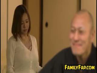 Geil vrouw loves stap vader