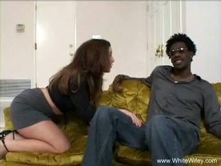 Wifey Fucks BBC While Hubby Works