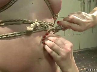 Mistress Katy Parker punishing hot slavegirl