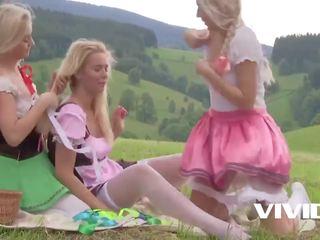 blondinen, lesben, europäisch