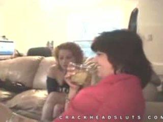 Igazi otthon footage a crackhead leszopás