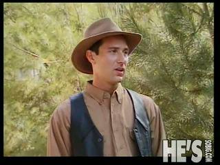 Pene adams fucks alcuni caldi cowboy culo