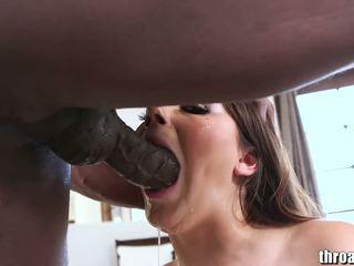 črna, oralni seks
