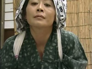 japonês, dona de casa, asiático